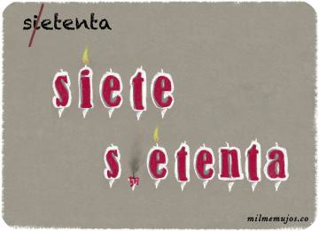 """sietenta""; common errors; frequent mistakes; Spanish learners; errores frecuentes; español lengua extranjera; ELE"