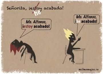 common errors; frequent mistakes; Spanish learners; español lengua extranjera; ELE; errores frecuentes