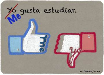 """Yo gusta""; frequent mistakes; common errors; Spanish learners; errores frecuentes; español lengua extranjera; ELE"