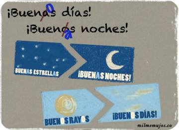 """buenas días""; ""buenos noches""; frequent mistakes; common errors; Spanish learners; errores frecuentes; español lengua extranjera; ELE"