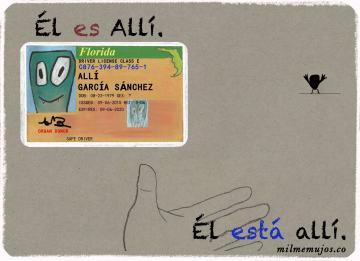 """es allí""; frequent mistakes; common errors; Spanish learners; errores frecuentes; español lengua extranjera; ELE"