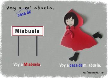 """voy a mi abuela""; ""voy a mis primos""; common errors; frequent mistakes; Spanish learners; español lengua extranjera; ELE; errores frecuentes"