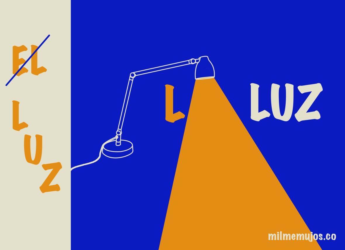 El luz; common errors; Spanish learners; errores frecuentes; español lengua extranjera
