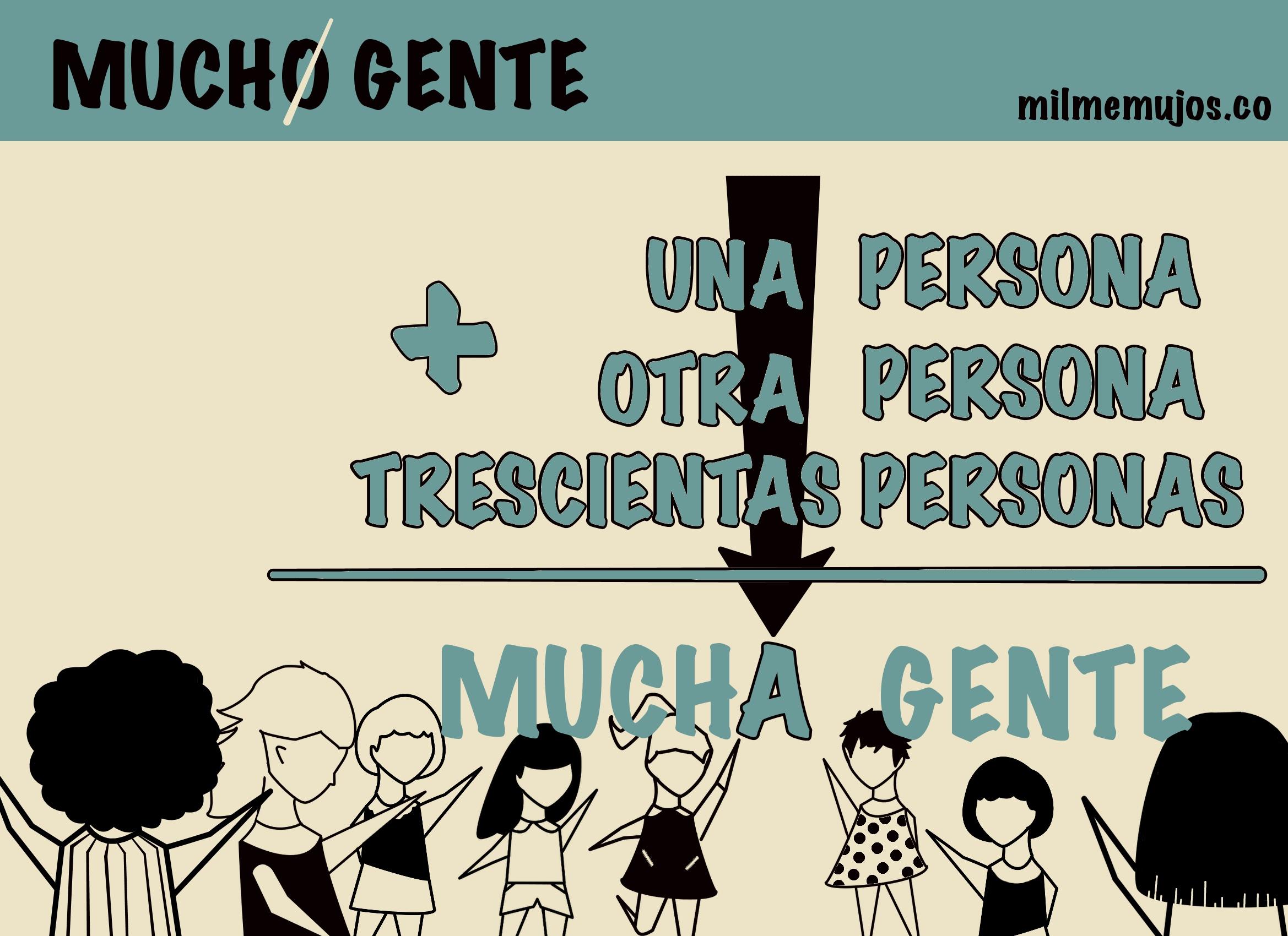 """mucho gente""; common mistakes; Spanish learners; errores frecuentes; ELE; español lengua extranjera"