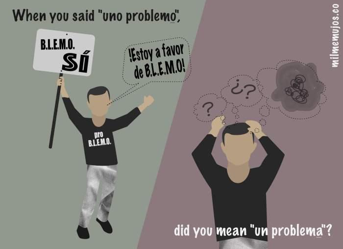 """la problema""; common errors; frequent mistakes; Spanish learners; español lengua extranjera; ELE; errores frecuentes"