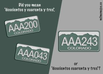 numbers; common errors; frequent mistakes; Spanish learners; español lengua extranjera; ELE; errores frecuentes