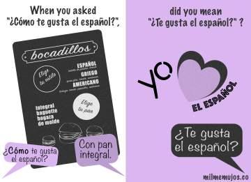"""¿Cómo te gusta?""; common errors; frequent mistakes; Spanish learners; ELE; español lengua extranjera; errores frecuentes"